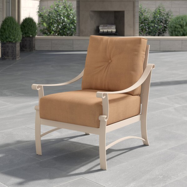 Bungalow Patio Chair with Cushion by Woodard