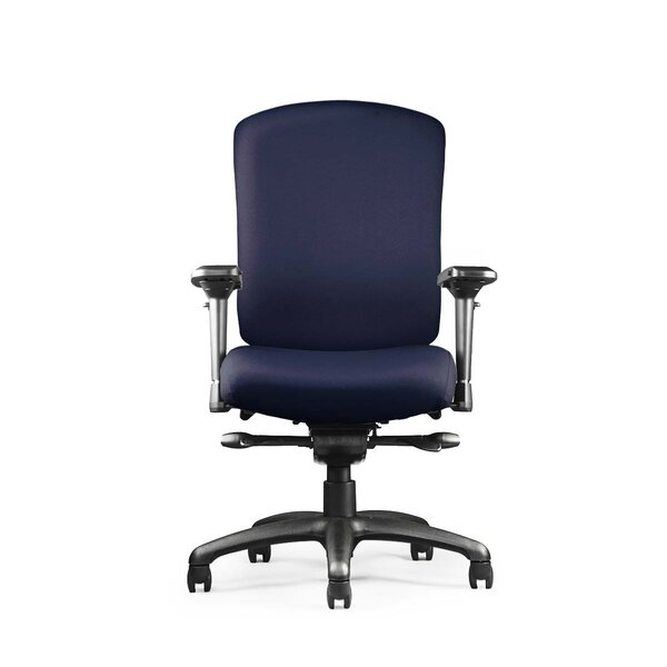 Mordecai Mid Back Ergonomic Office Chair by Symple Stuff