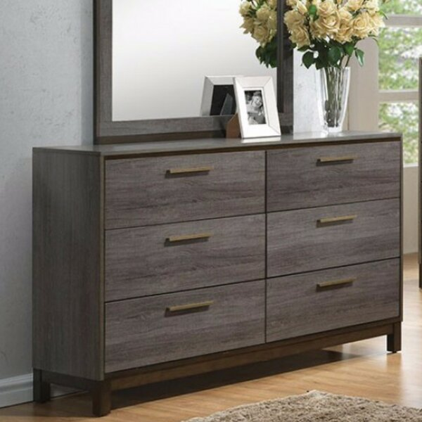 Amya Glided 6 Drawers Double Dresser by Corrigan Studio