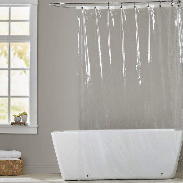 5 Gauge Vinyl Shower Curtain Liner by Symple Stuff