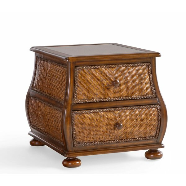 Sanchez End Table With Storage By Bayou Breeze