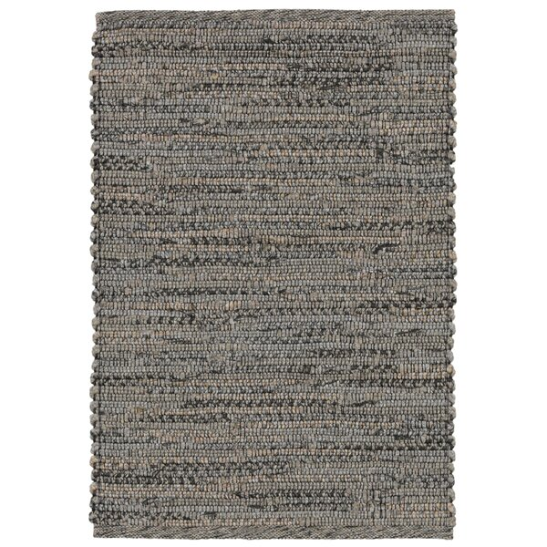 Sardis Handwoven Flatweave Gray Indoor/Outdoor Area Rug by August Grove