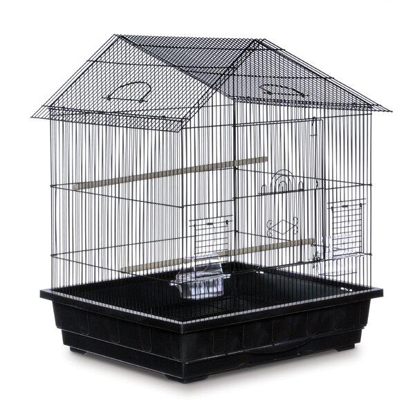 Offset Roof Cockatiel  Bird Cage by Prevue Hendryx