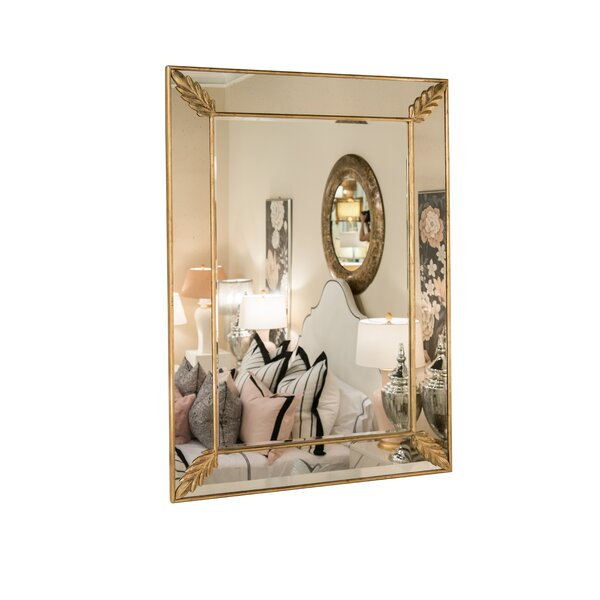 Leaf Accent Mirror by Bradburn Home