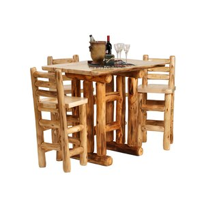 Aspen Heirloom Pub Table by Mountain Woods Furniture