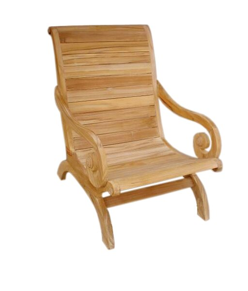 Teak Patio Chair by D-Art Collection