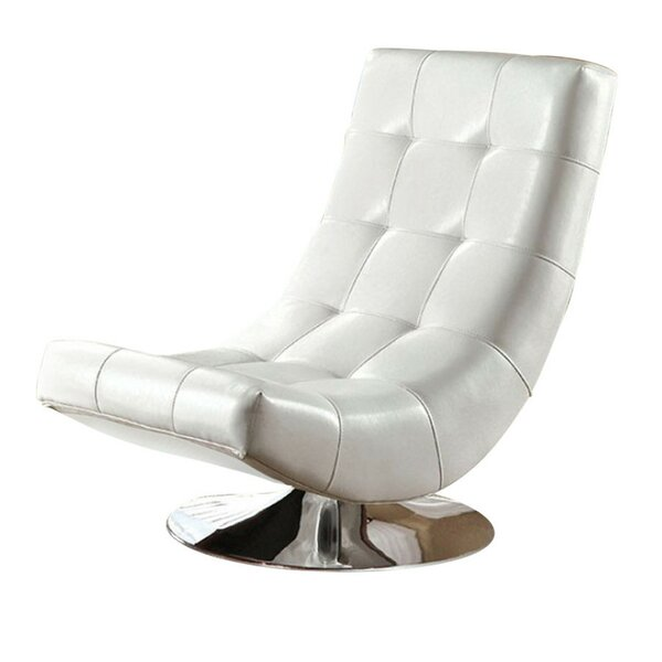 Miles Swivel Lounge Chair by Orren Ellis