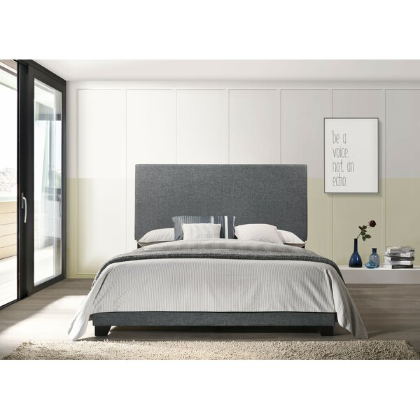 Brentwood Upholstered Standard Bed By Canora Grey by Canora Grey New