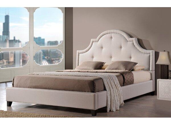 Teri Upholstered Platform Bed by Greyleigh