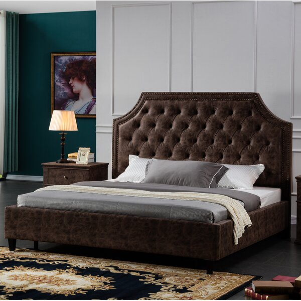 Crichton Upholstered Platform Bed by 17 Stories