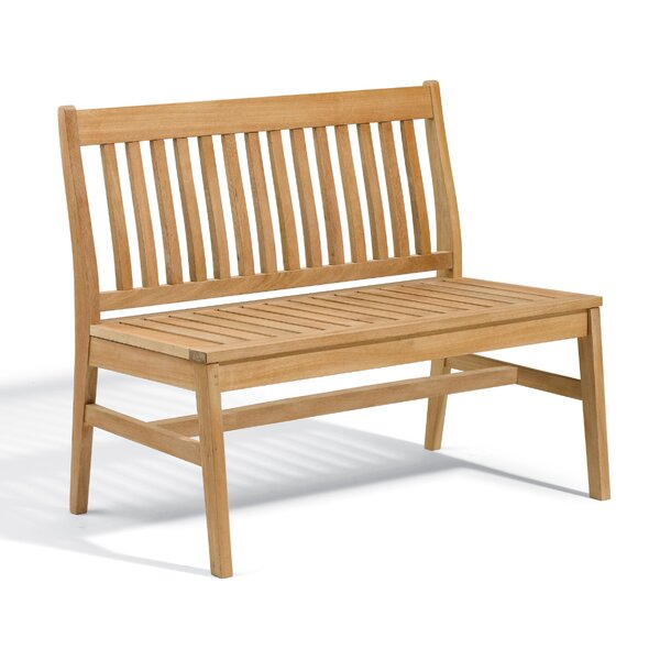 Myres Wooden Garden Bench by Beachcrest Home