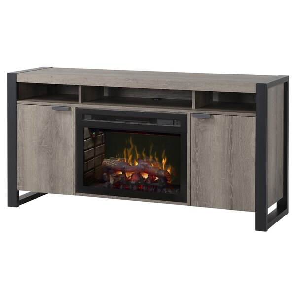 Pierre 61 TV Stand with Fireplace by Dimplex