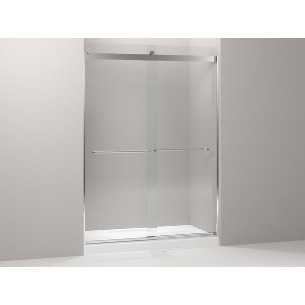 Levity 39.81'' x 86'' Double Sliding Panel and Assembly Kit for Shower Door with CleanCoat® Technology by Kohler