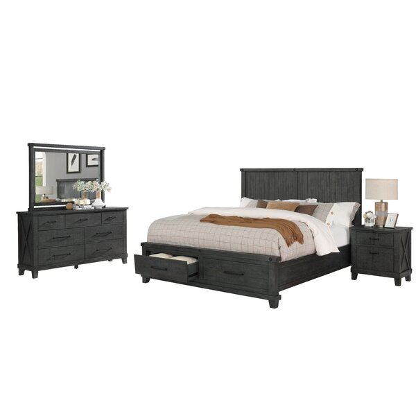 Gutshall Platform 4 Piece Bedroom Set by Gracie Oaks