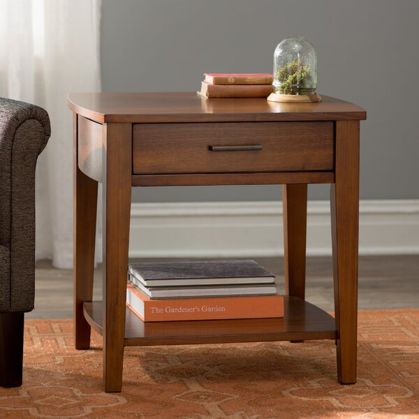 Delmont End Table by Alcott Hill