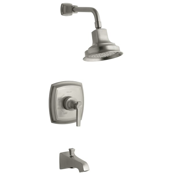 Margaux Rite Temp Pressure Balancing Bath and Shower Faucet Trim with Lever Handle, Valve Not Included by Kohler