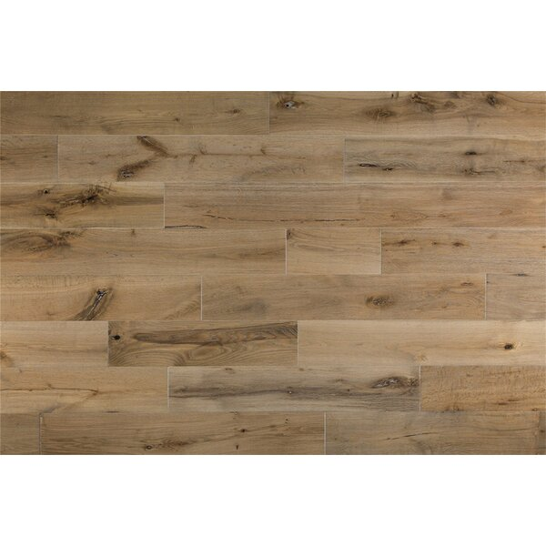 Bridgette French 6 Solid Oak Hardwood Flooring in Desert Tone by Welles Hardwood