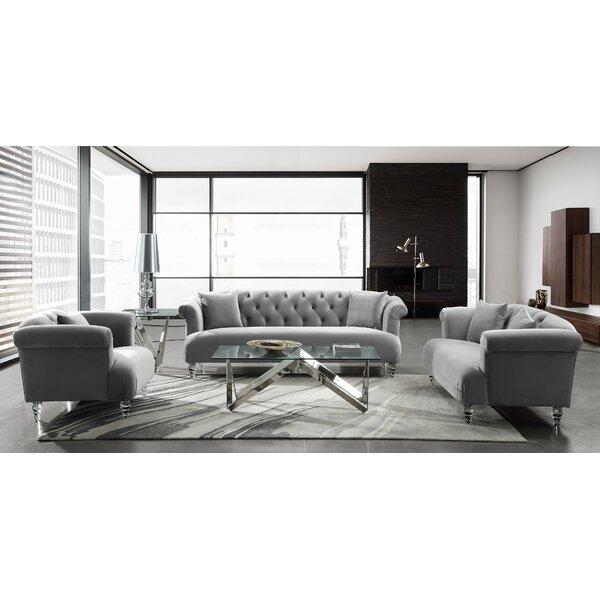 Fields Contemporary Configurable Living Room Set by Rosdorf Park