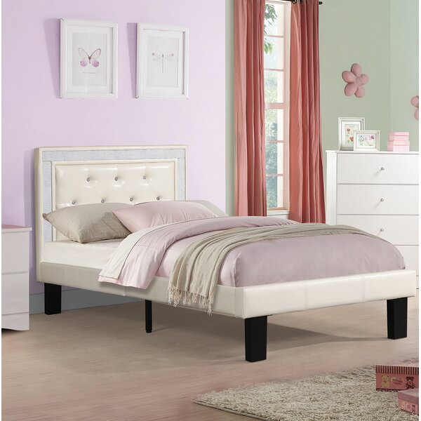 Burdick Upholstered Platform Bed by Mercer41