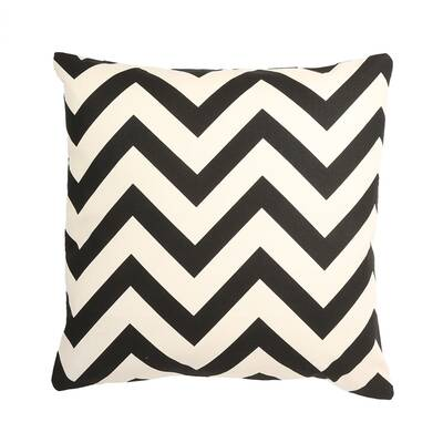 Ivy Bronx Ellesmere Chevron Print Throw Pillow Reviews Wayfair