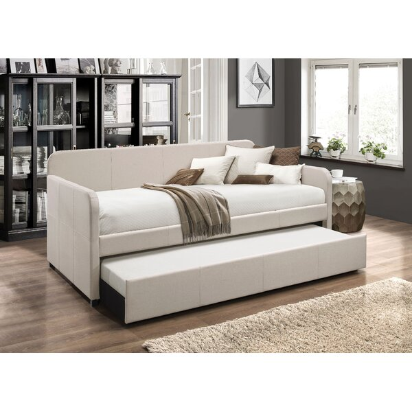 Review Levesque Twin Daybed With Trundle
