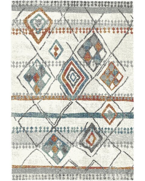 Foerster Ivory Area Rug by Bungalow Rose