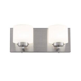 Affordable Jusino 2-Light LED Vanity Light By Brayden Studio