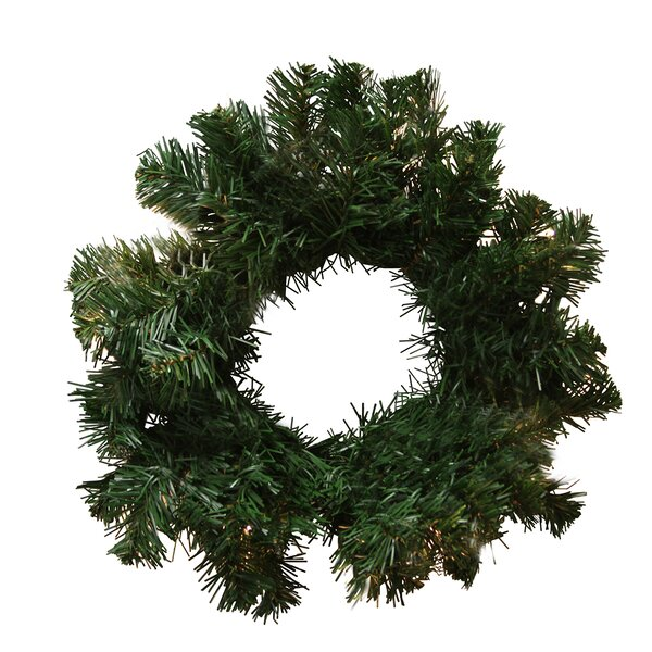 60 Artificial Deluxe Windsor Pine Christmas Wreath by Tori Home
