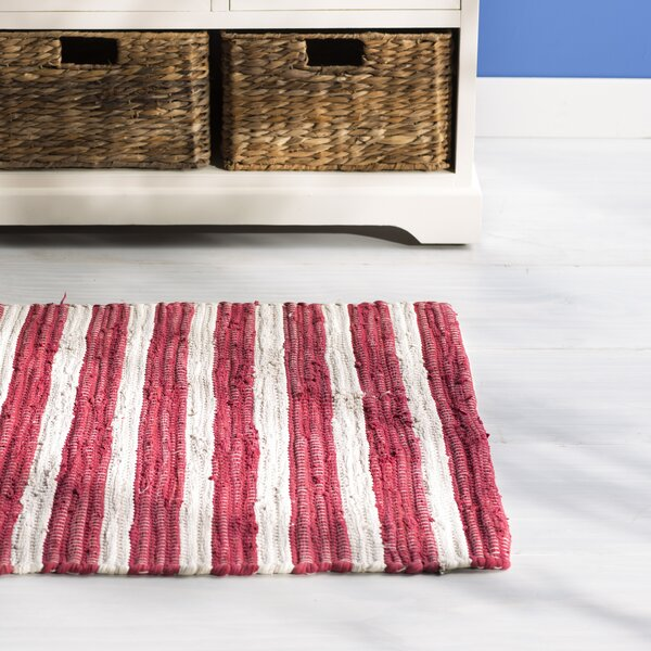 Waterton Red Area Rug by Beachcrest Home