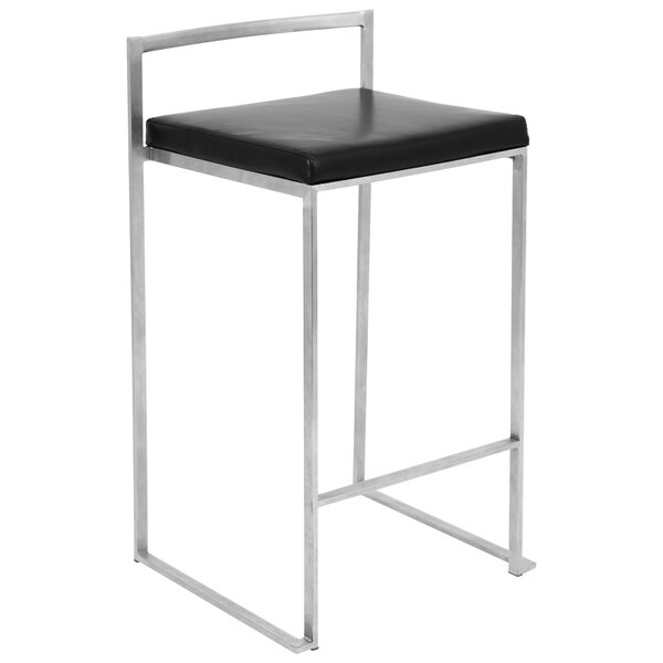 Gary 27 Bar Stool (Set of 2) by Wade Logan