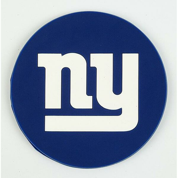 NFL New York Giants Coaster (Set of 4) by DuckHouse