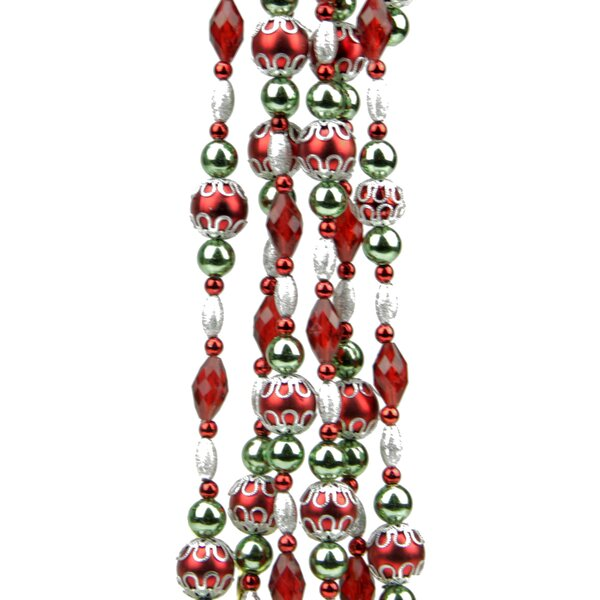 Dazzling Diva Beaded Christmas Garland by Northlight Seasonal