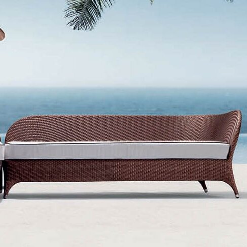 Flora Patio Daybed With Cushion By 100 Essentials