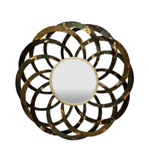 Geo Circles Wall Mirror by Gallerie Decor