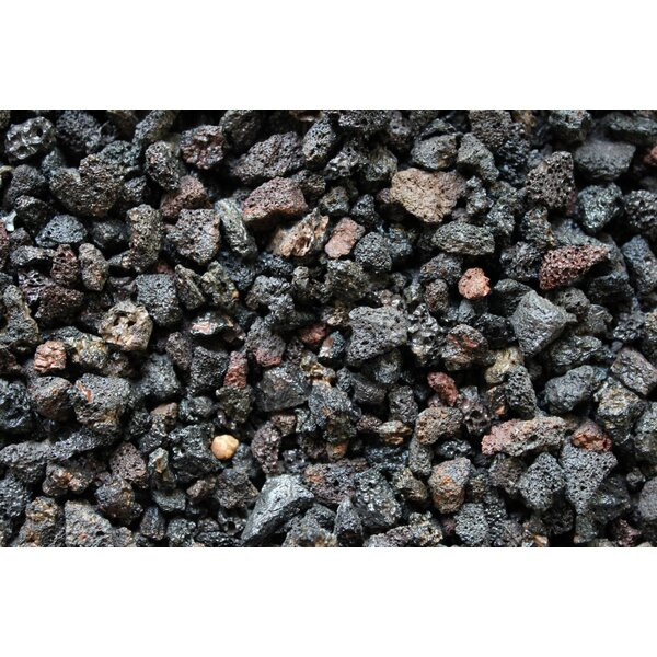 Volcanic Lava Rock Cinders Hydroponics Growing Media by Fire Pit Essentials