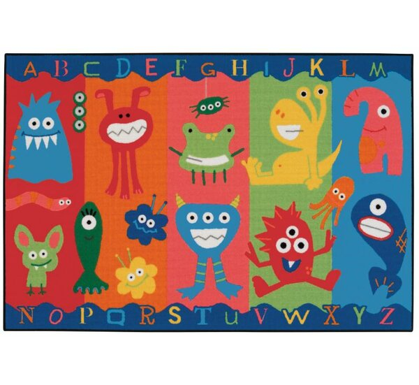 Alphabet Monsters Kids Area Rug by Kids Value Rugs