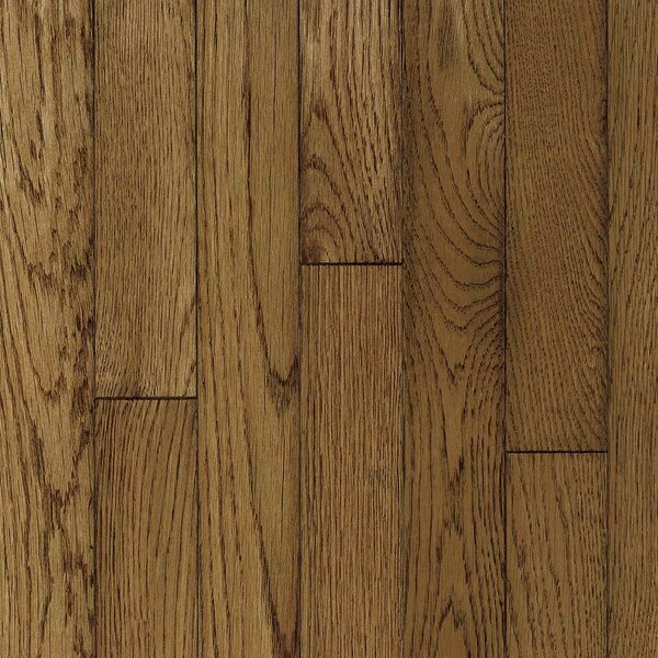 Ascot Plank 3-1/4 Solid Oak Hardwood Flooring in Sable by Armstrong Flooring