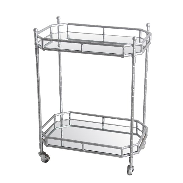 Arrington Metal Bar Cart by Mercer41