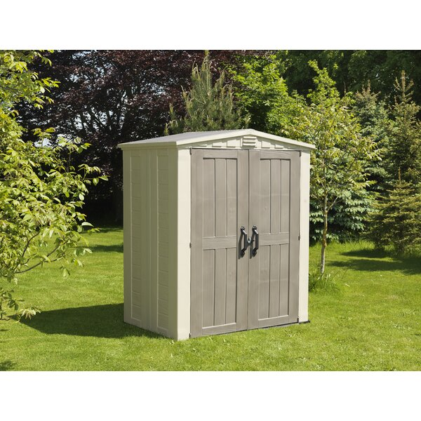Factor 5 ft. 10 in. W x 3 ft. 9 in. D Plastic Tool Shed by Keter