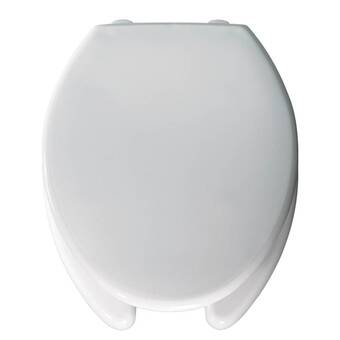 Outstanding Bemis Medical Assistance Plastic Elongated Toilet Seat Wayfair Creativecarmelina Interior Chair Design Creativecarmelinacom