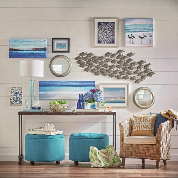 Azalea Park Fish Wall Décor by Beachcrest Home