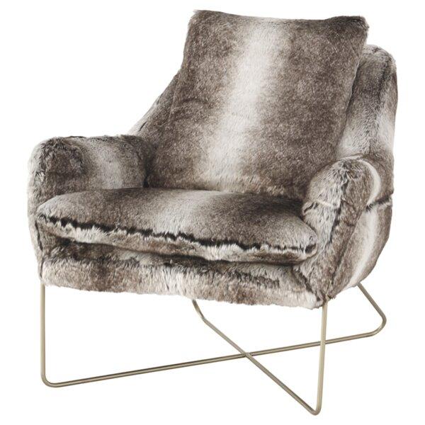 Schumacher Lounge Chair by Everly Quinn