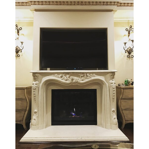 Los Angeles Cast Stone Fireplace Mantels