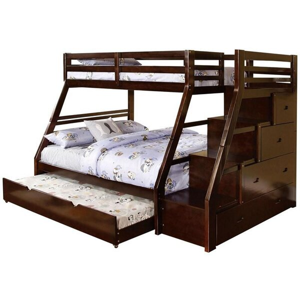 Judkins Twin Over Full Bunk Bed by Harriet Bee