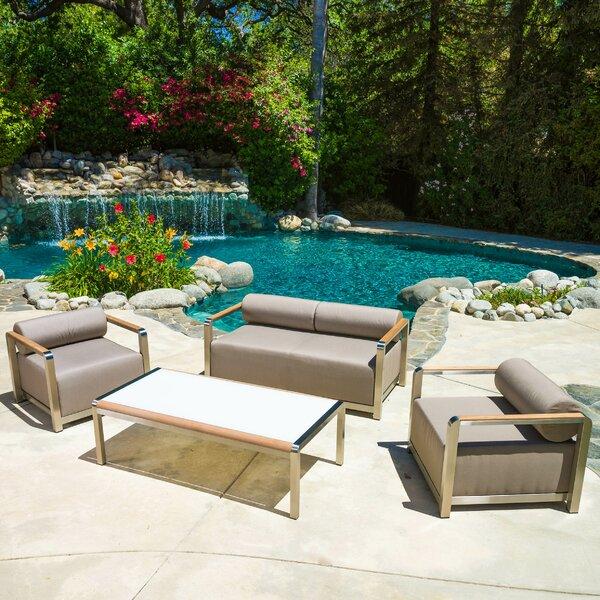 Clairemont 4 Piece Sofa Set by Home Loft Concepts