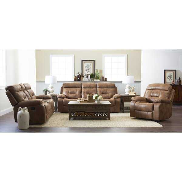 Russel Reclining Configurable Living Room Set by Charlton Home
