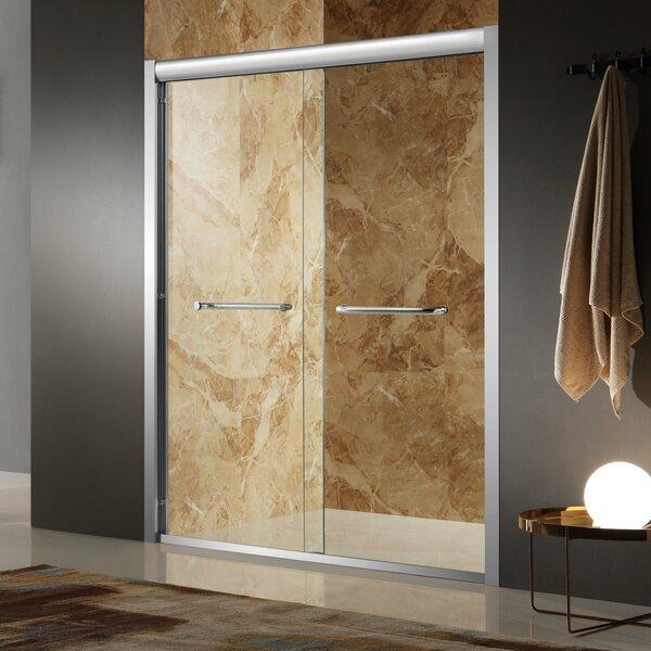 Pharaoh 48 x 72 Single Sliding Framed Shower Door by ANZZI