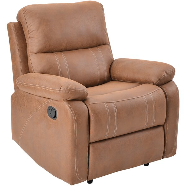 Mandan Faux Leather Manual Recliner W002325462