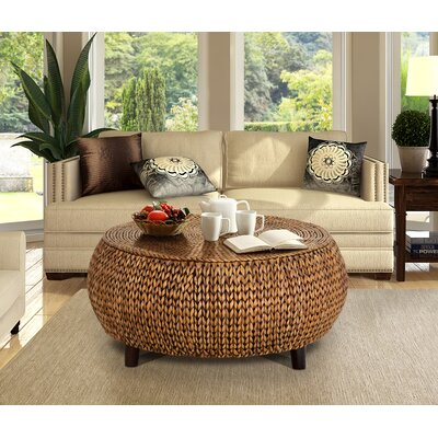 Arboleda Coffee Table Color: Gold Patina by Beachcrest Home