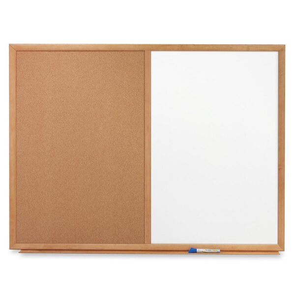 Wall Mounted Whiteboard and Bulletin Board by Quartet®